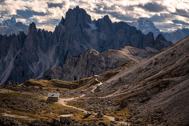 Lavaredo Hut, Dolomites, Italy