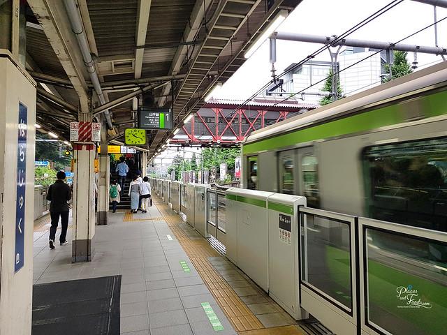 tokyo harajuku station train