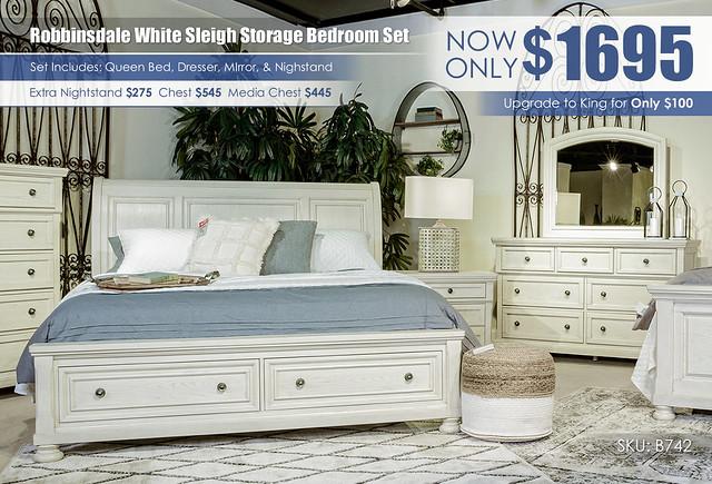Robbinsdale Queen Storage Bedroom Set B742_Update