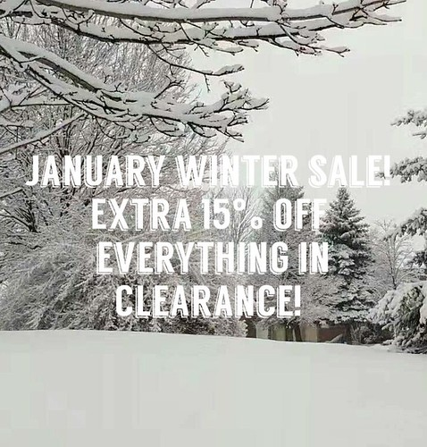 The extra 15% Discount means up to 55% off everything in Clearance only! Some conditions apply.