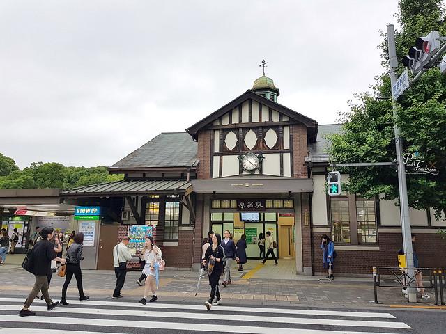 tokyo old harajuku station