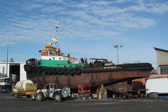 IMG_4280 - Port Townsend WA - Shipyard - tug RED BLUFF