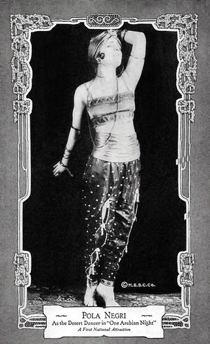 Pola Negri in Sumurun (1920)