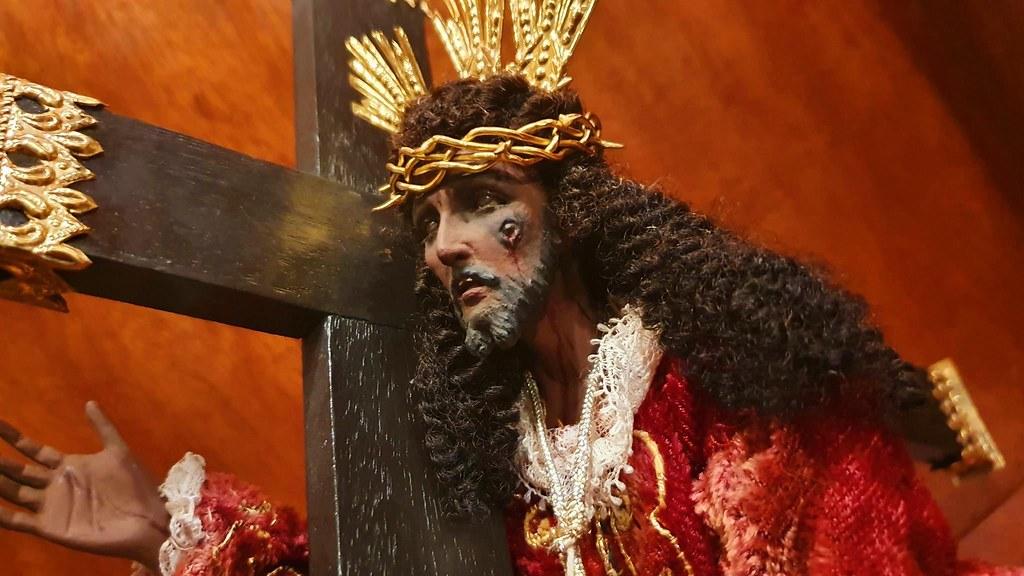 Black Nazarene replica by Irineo Cristobal