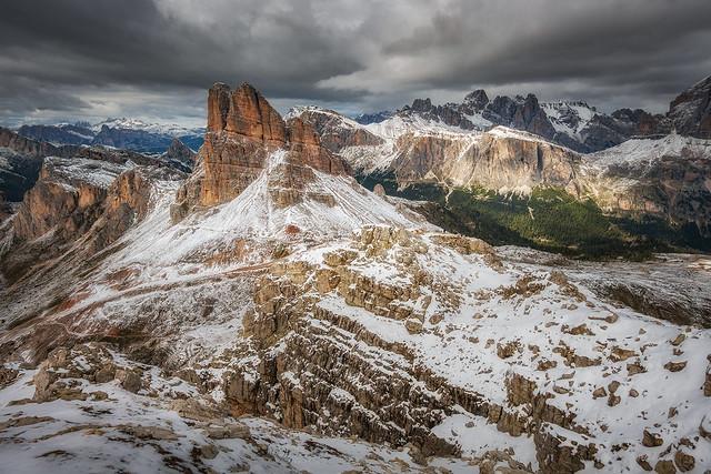 spontane Klettersteigtour Dolomiten
