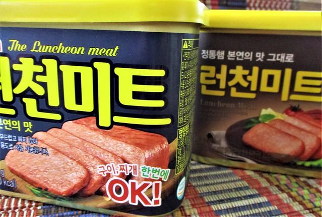 Korean luncheon meat