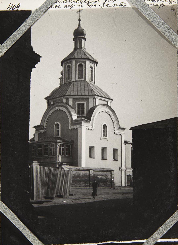 Златоустовский монастырь в Москве. Вид на церковь Благовещения Богоматери
