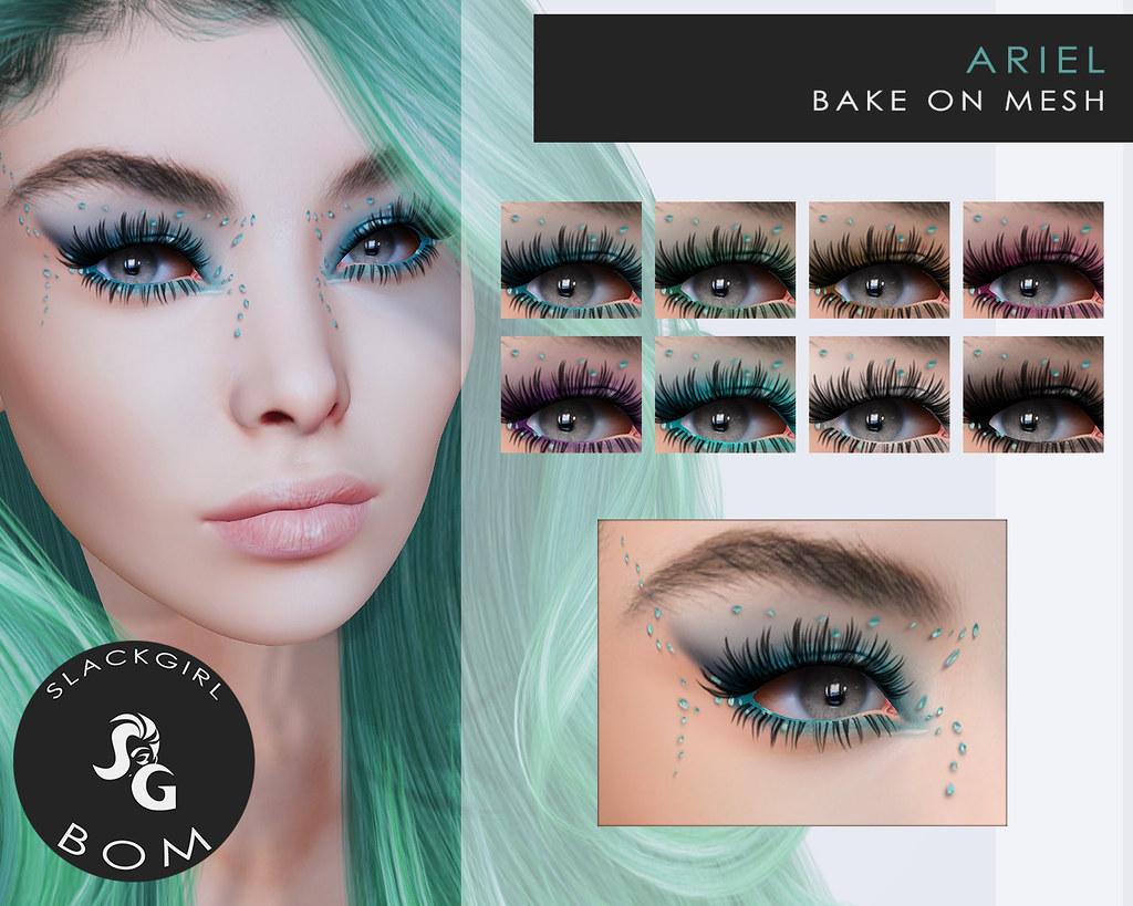 Ariel Bom Makeup