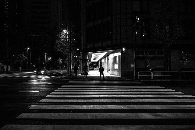 Night Crossing - Otemachi