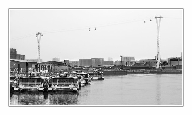 Bleak Afternoon over Trinity Buoy Wharf