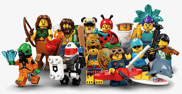 LEGO Collectable Minifigures Series 21 (71029)