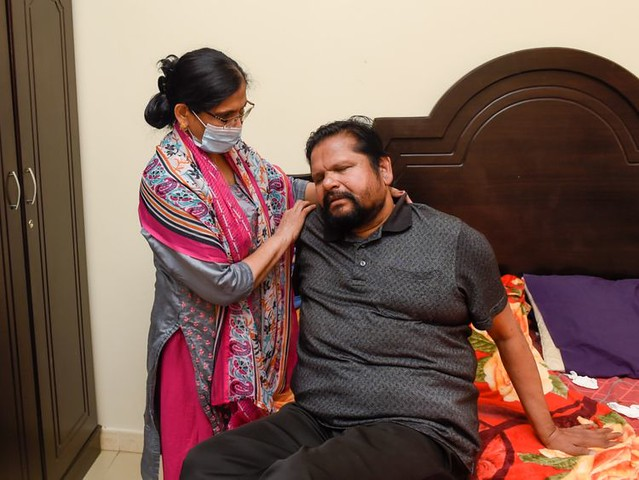 5883 A blind Indian expat survives 4 heart attacks and COVID19 01