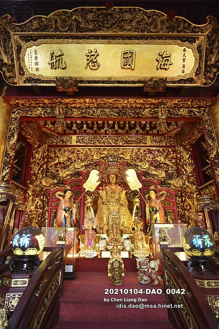 20210104-DAO_0042 台灣,宜蘭縣,南方澳,蘇澳南天宮,湄洲金媽祖,媽祖神像,金身媽祖