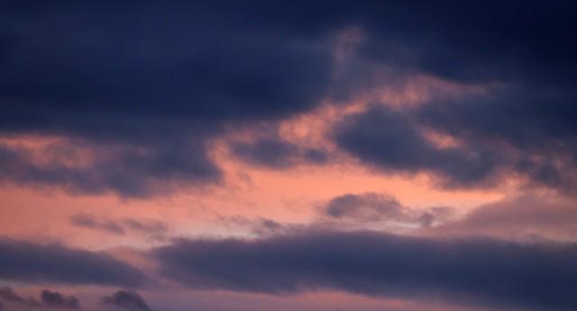 Winter sky VII