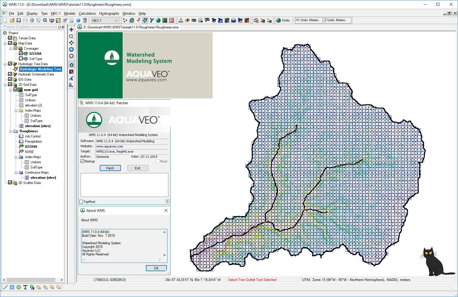 Working with Aquaveo WMS Premium 11.0.4 full