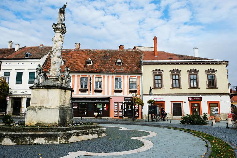 Fő tér, Kőszeg, Hungary