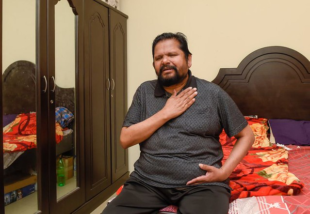 5883 A blind Indian expat survives 4 heart attacks and COVID19 02