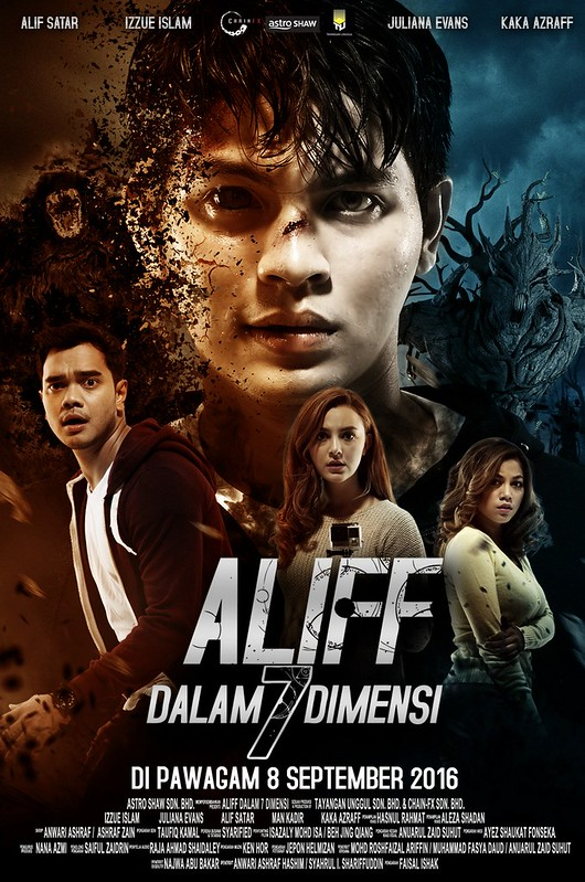 Poster Aliff Dalam 7 Dimensi