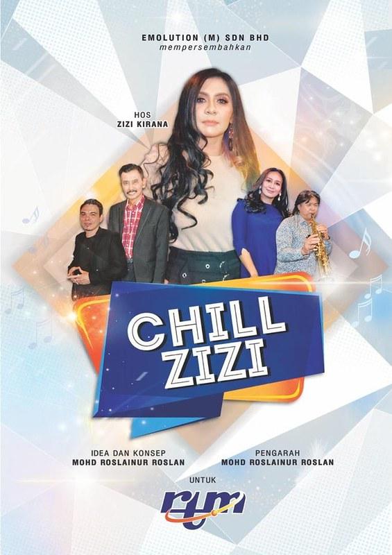 Zizi Kirana Hos Talkshow Chill Zizi Di Tv Okey