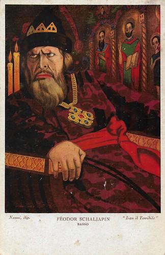 Feodor Chaliapin as Ivan the Terrible