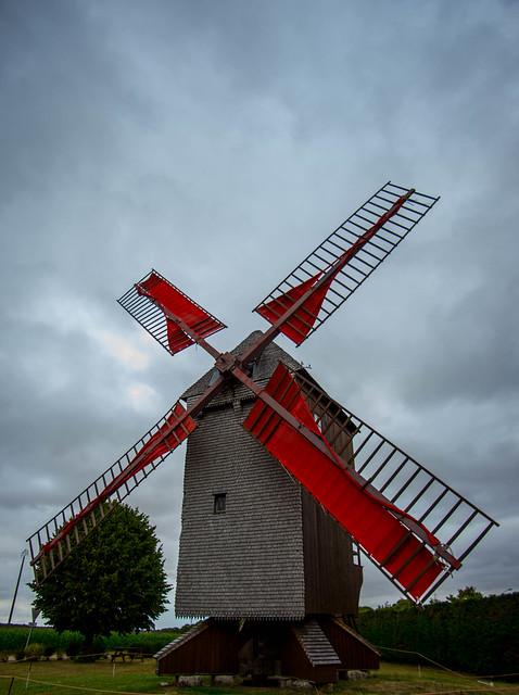 Moulin à vent Eure et Loir.
