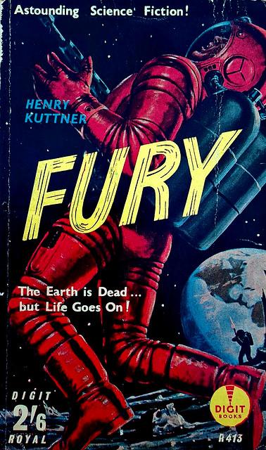 Fury - Digit Books - Henry Kuttner - R 413 - 1960