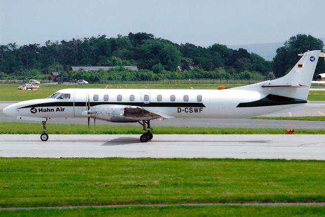 Hahn Air   Fairchild Metro 23   D-CSWF   Manchester International