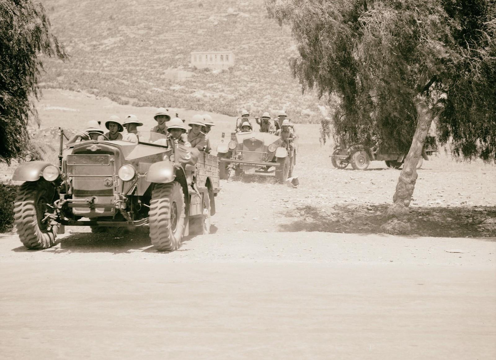 04. 1938. Британские солдаты патрулируют Шхем