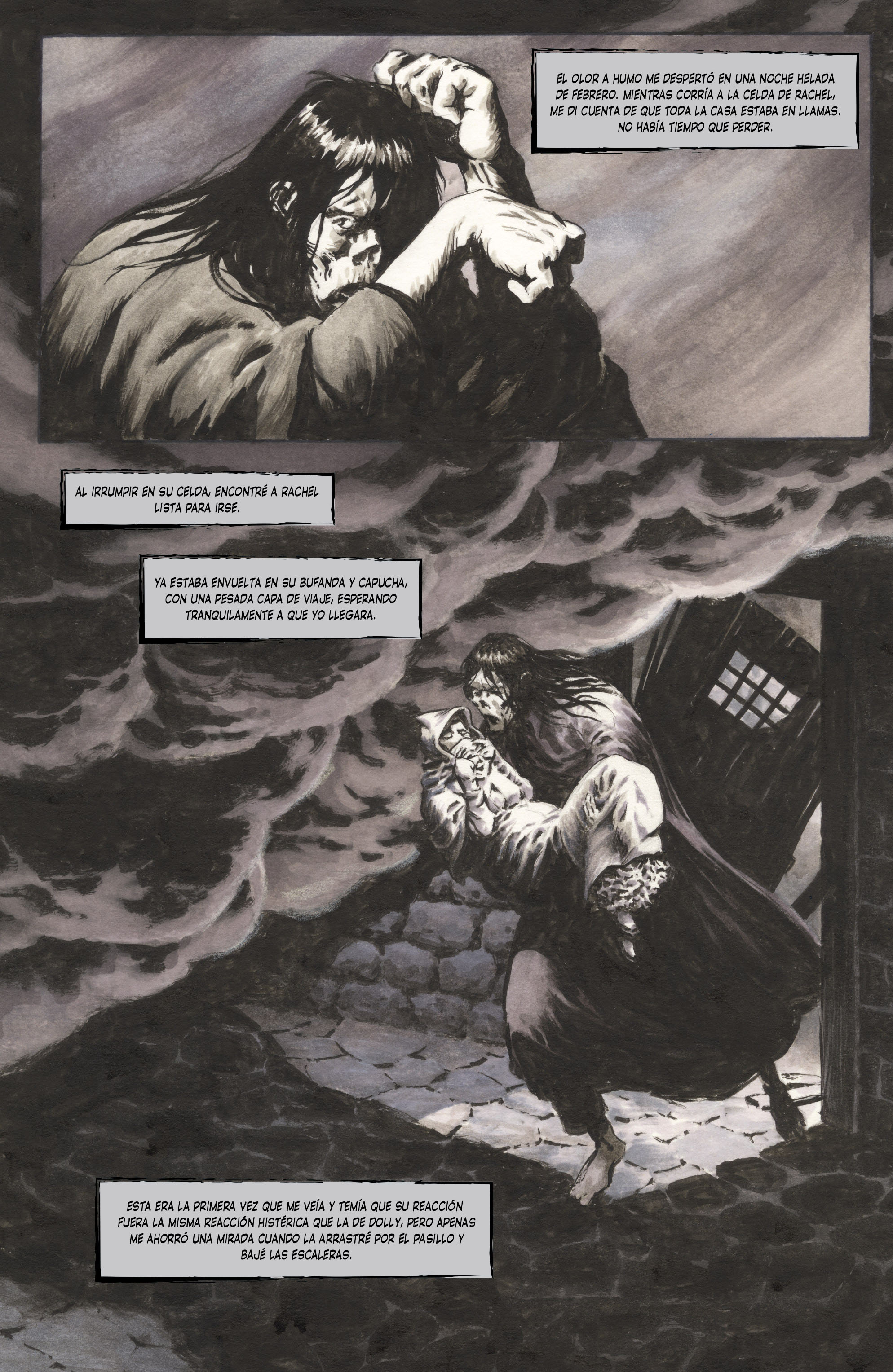 Frankenstein Alive, Alive 004-009