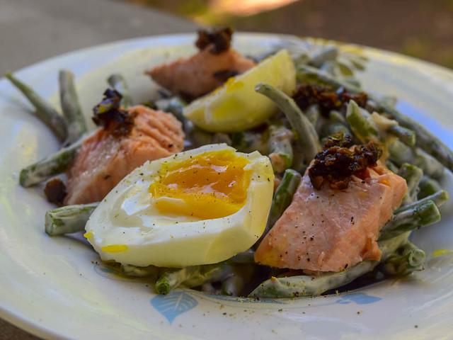Salade de saumon et haricots verts 20