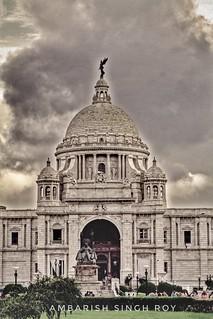 Victoria Memorial Hall, Calcutta, India