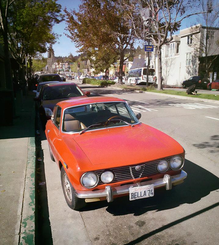 Alfa Romeo on Shattuck