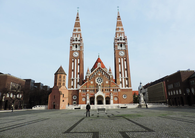 Cathedral Square, Szeged, Hungary
