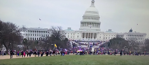 My screen grab from tv coverage of the Capitol Seige