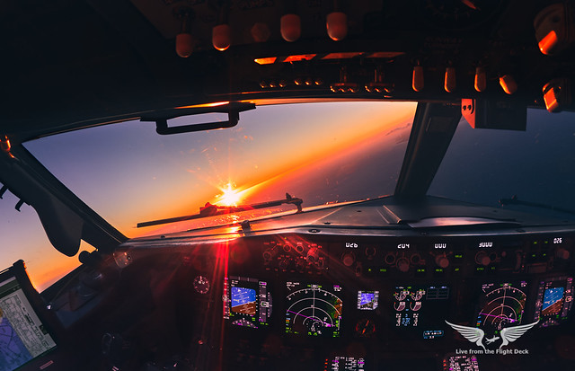 Turning towards the ILS 03L in Gran Canaria
