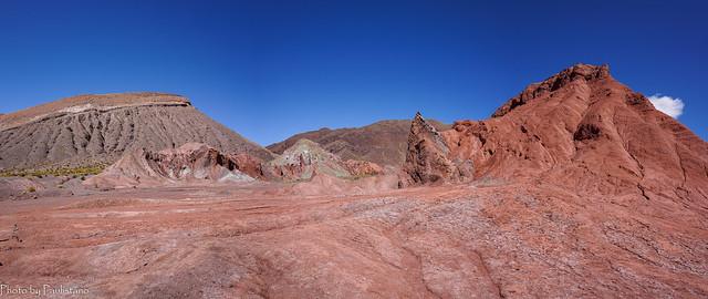 Rainbow Valley mountains / Горы Радужной долины