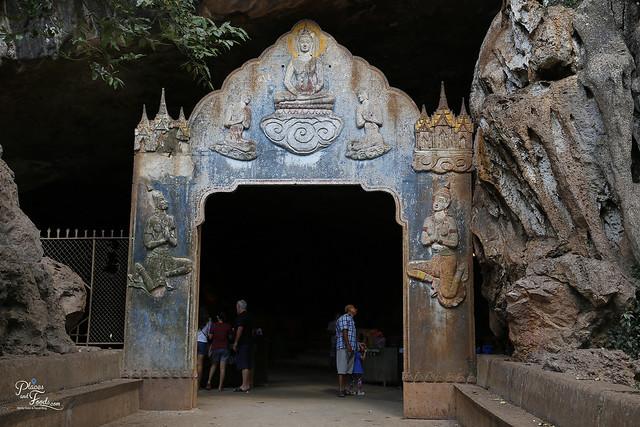 Wat Suwan Khuha phang nga entrance