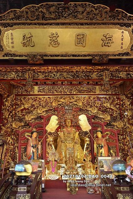 20210104-DAO_0044 台灣,宜蘭縣,南方澳,蘇澳南天宮,湄洲金媽祖,媽祖神像,金身媽祖