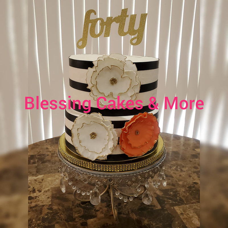 Cake by Blessing Cakes & More