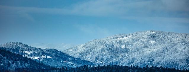 Mountains surrounding Oslo