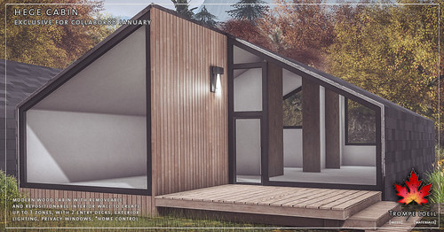 Trompe Loeil - Hege Cabin for Collabor88 January | by TrompeLoeilSL