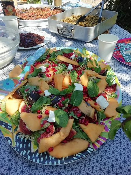 salade aux grenades