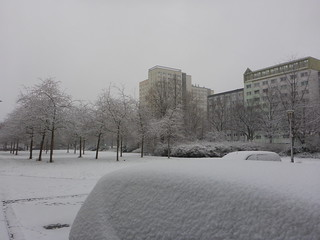 Schnee in Leipzig | by PercyGermany