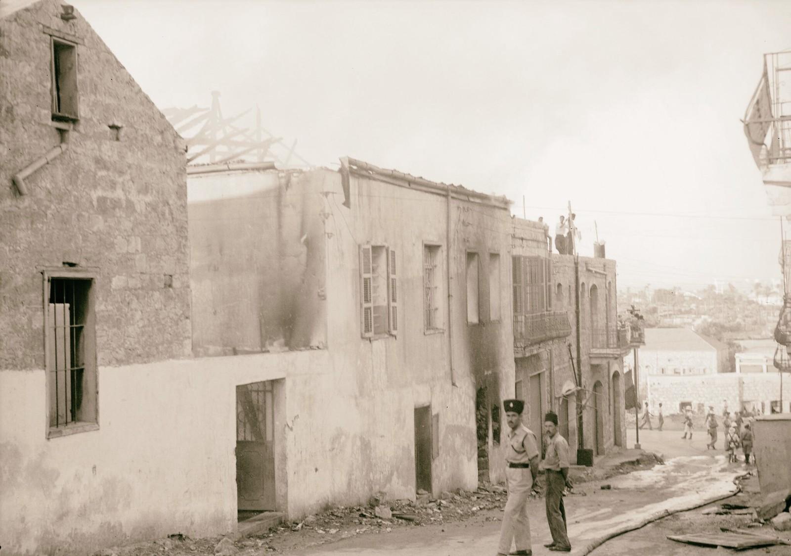 03. 1938. Беспорядки в Шхеме. 13 и 14 июля