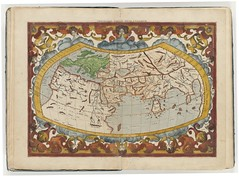 1578 Mercator's edition of Ptolemy map