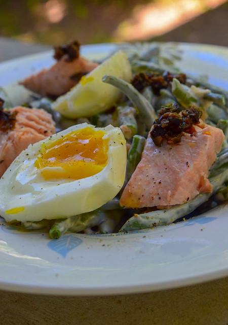 Salade de saumon et haricots verts 30