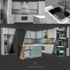 CKP/MODULAR KITCHEN SET