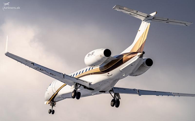OK-JNT ABS Jets Embraer EMB-135BJ Legacy 600