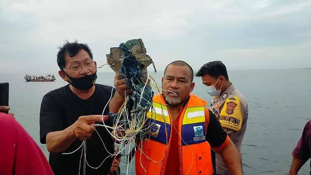 Accidente aereo de la aerolínea Sriwijaya Air