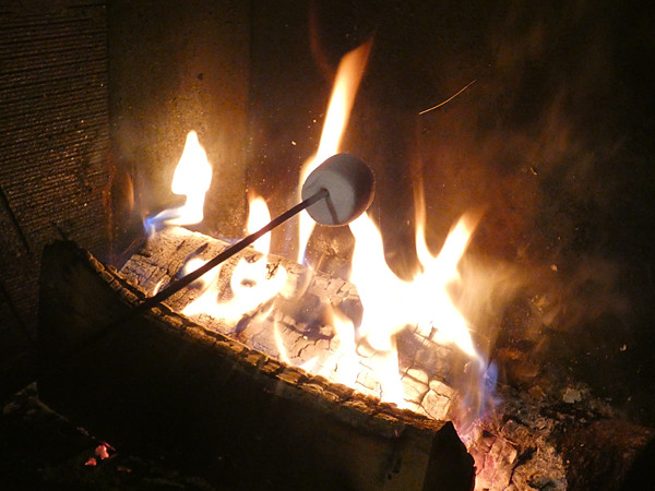 dans le feu